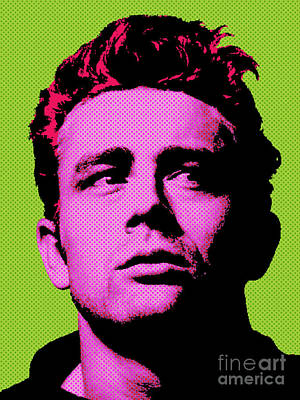 Actors Royalty-Free and Rights-Managed Images - James Dean 003 by Bobbi Freelance