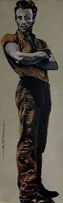 James Dean 1955 Original by Eric Dee