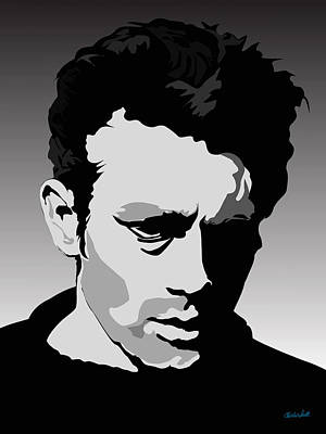 Charles Smith Painting - James Dean by Charles Smith