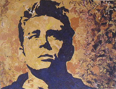 James Dean Art Print by David Shannon
