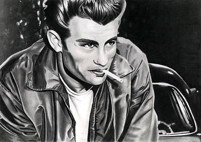 James Dean Print by Cool Canvas
