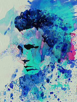 Movie Art Mixed Media - James Dean by Naxart Studio