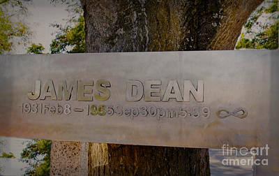 James Dean James Dean Art Print