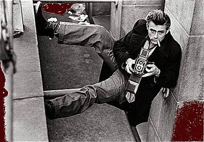 Aromatherapy Oils Royalty Free Images - James Dean Rolleiflex New York City 1954-2014 Royalty-Free Image by David Lee Guss
