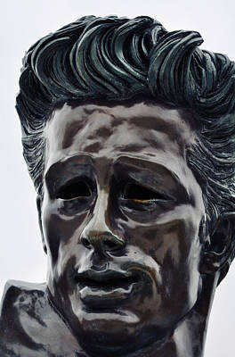 Art Print featuring the photograph James Dean The Rebel by Kyle Hanson