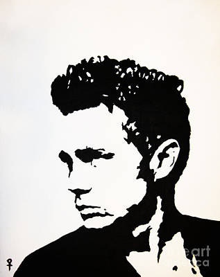 Postmodern Mixed Media - James Dean by Venus
