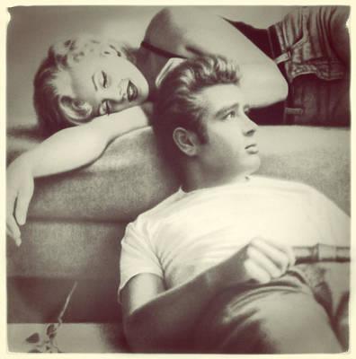 Deen Photograph - James Deen And Marilyn by Diane Wood