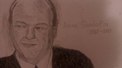 James Gandolfini Original by Christopher Kyriss