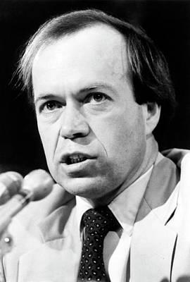 Talking Heads Photograph - James Hansen by American Geophysical Union (agu), Courtesy Aip Emilio Segre Visual Archives