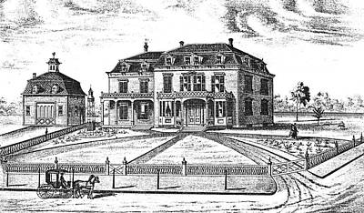 Fence Drawing - James Inman Residence by Granger