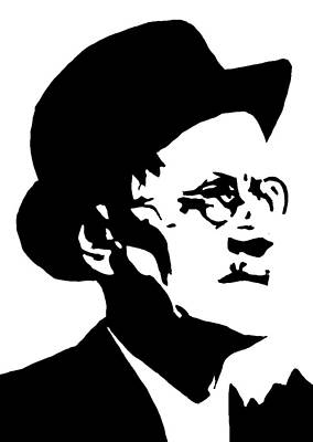 James Joyce Famous Irish Writer Original