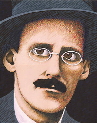 James Joyce Original by Martin Keaney