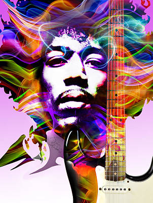 James Marshall Hendrix Art Print