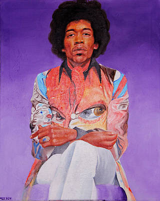 Painting - James Marshall Hendrix by Michael Swanson