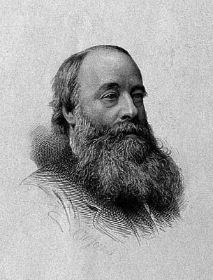 Theorist Painting - James Prescott Joule, English Physicist by Wellcome Images