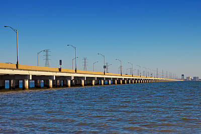 Photograph - James River Bridge by Melinda Fawver