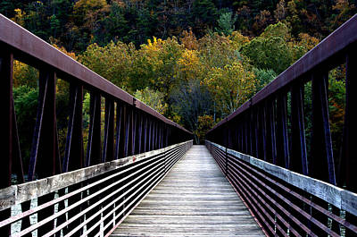 Photograph - James River Footbridge by Cathy Shiflett