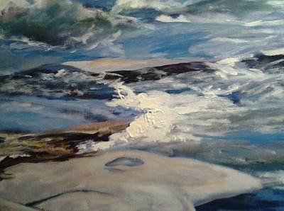 Painting - James River Rapids by Sheila Holland
