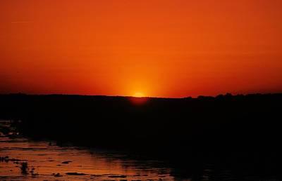 James River Sunset Art Print