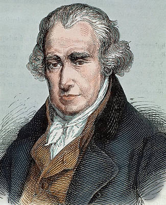 Watt Photograph - James Watt (greenok 1736-heathfield by Prisma Archivo
