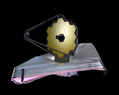 Cosmological Photograph - James Webb Space Telescope by Nasa