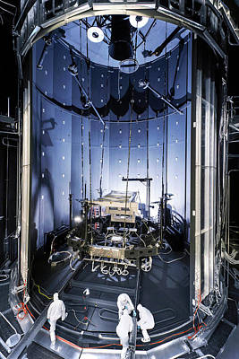 Mechanism Photograph - James Webb Space Telescope Testing by Nasa, Chris Gunn