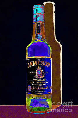 Jameson Irish Whiskey 20140916wc V2 Art Print by Wingsdomain Art and Photography