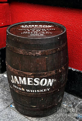 Of Artist Photograph - Jameson Irish Whiskey by John Rizzuto