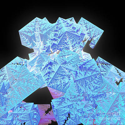 Digital Art - Jutting Frost By Jammer by First Star Art