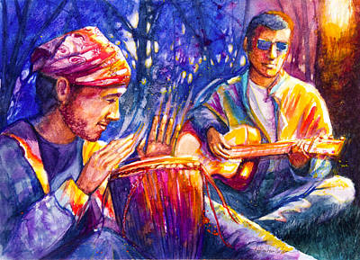 Jamming Original by Patricia Allingham Carlson