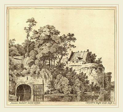 Jan Hackaert Dutch, Probably 1628-probably 1699 Art Print
