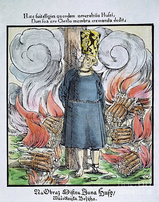 Photograph - Jan Hus by Granger