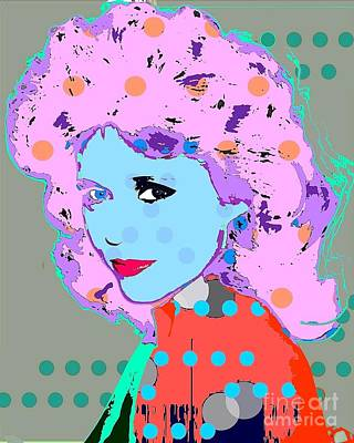 Digital Art - Jane Fonda by Ricky Sencion