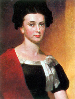 Painting - Jane Harrison, White House Hostess by Science Source