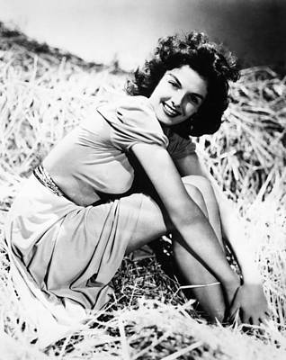 Photograph - Jane Russell (1921-2011) by Granger