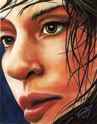 Painting - Janene by Michael Foltz