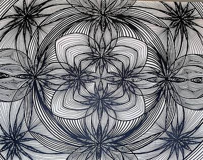 Janes Waves Print by Sarah Yencer