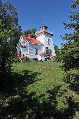 Photograph - Janet Head Lighthouse by John Jacquemain