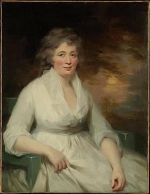 Raeburn Painting - Janet Law by Sir Henry Raeburn