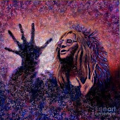 Janice Joplin Original by John Cruse Knotts
