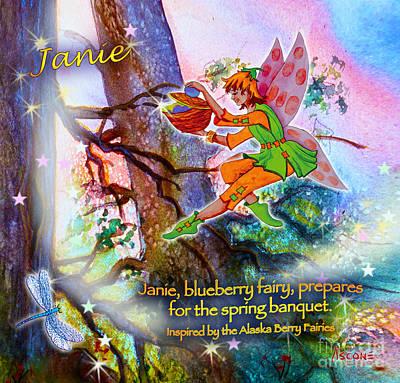 Matanuska Painting - Janie Twinkle by Teresa Ascone