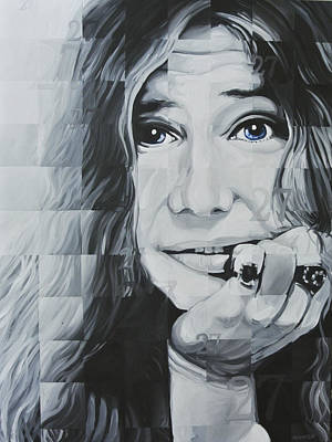 Painting - Janis 27 by Steve Hunter