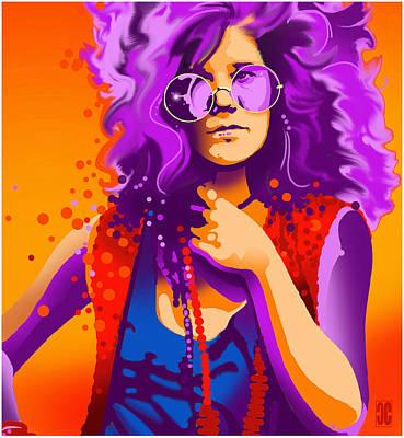 Janis Drawing - Janis by Craig Carl
