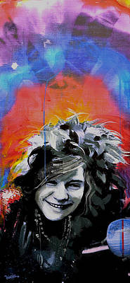 Janis Art Print by dreXeL
