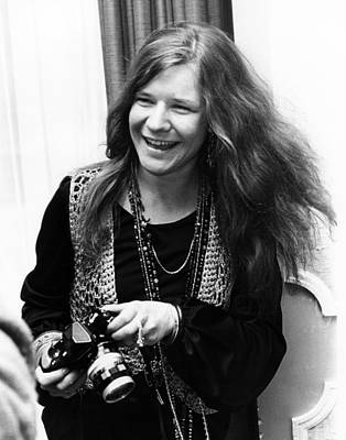 Photograph - Janis Joplin 1969 by Chris Walter