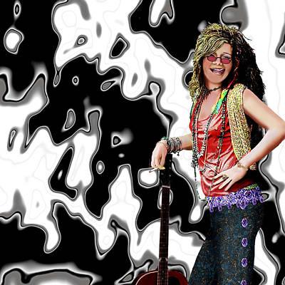 Painting - Janis Joplin 2 by Jann Paxton