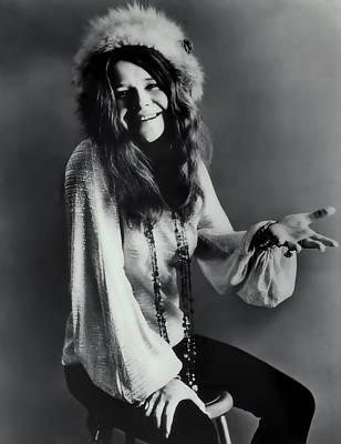 Janis Photograph - Janis Joplin by Daniel Hagerman