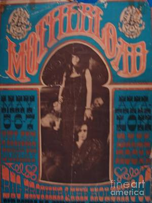 Photograph - Janis Joplin Vintage Poster Photo 1967 by Windy Mountain