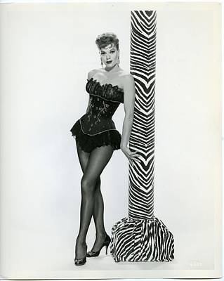 Janis Photograph - Janis Paige by Silver Screen