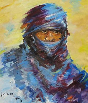 Painting - Janjaweed 3 by Negoud Dahab